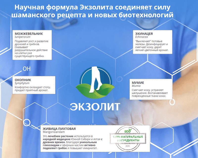 Полный состав препарата в Сыктывкаре